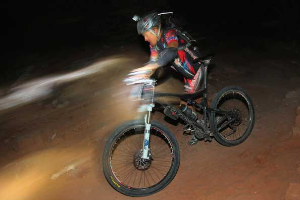 Night Racing at Moab