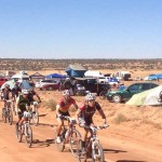 Josh Tostado leading the 2012 24 Hours of Moab