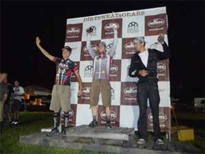 Dirt Sweat Gears Podium