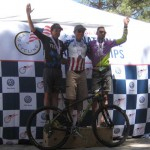 2014 24 hour national championships podium